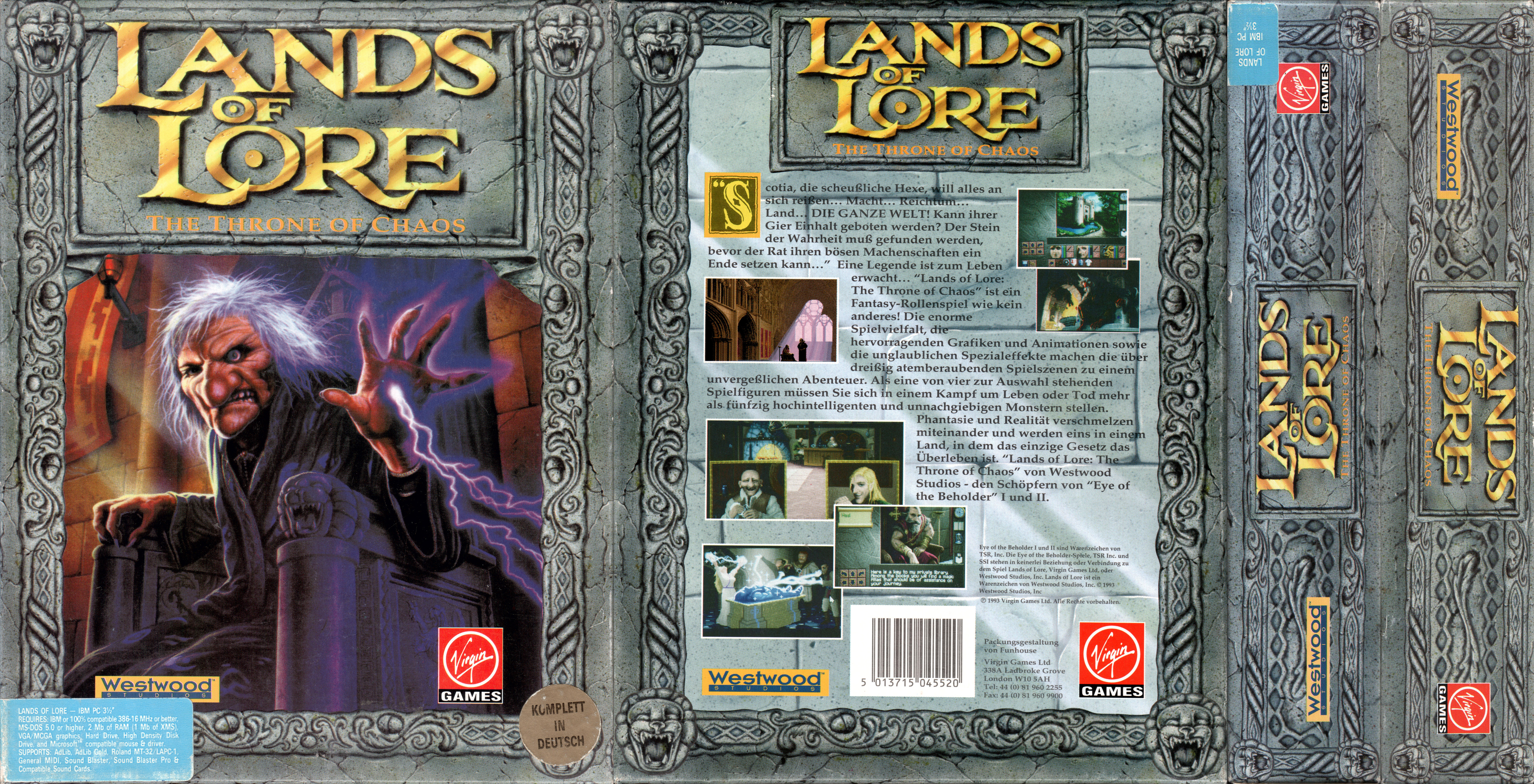 Big Box Collection: Papercraft model for Lands of Lore