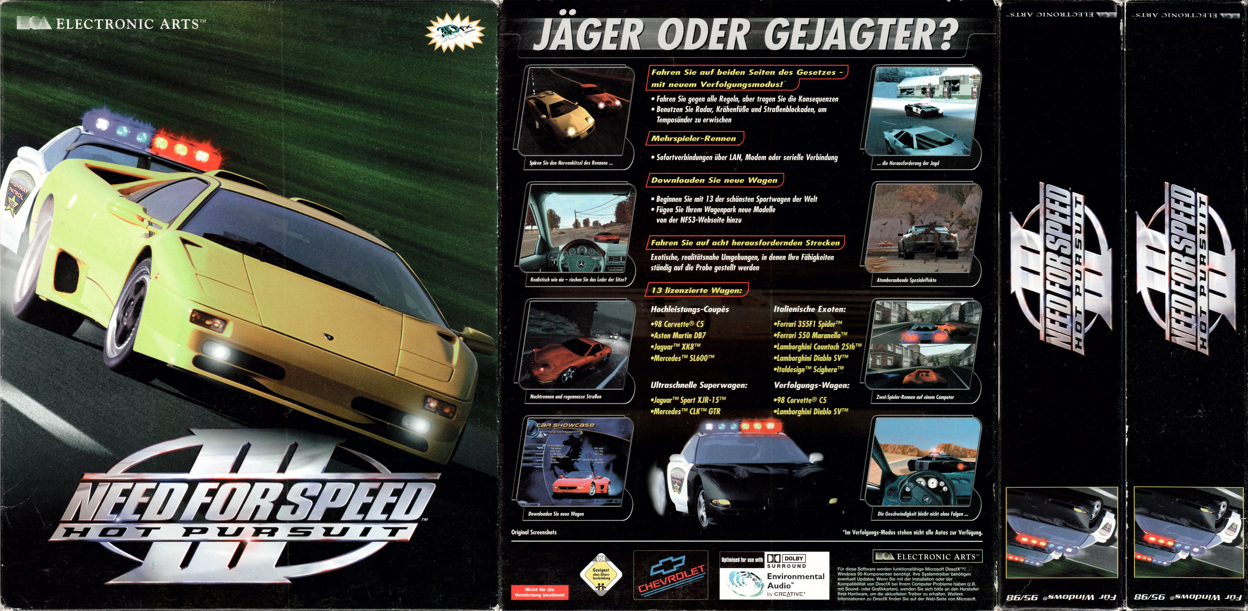 Big Box Collection Papercraft Model For Need For Speed Iii Hot